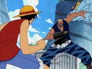 Luffy vs Morgan