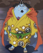 Jinbe's Outfit Whole Cake Island Arc