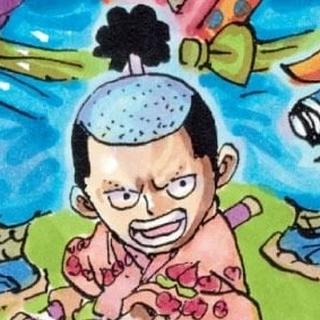 Kozuki Momonosuke nel manga