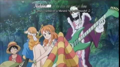 Nekomamushi no dan'na ni ai ni ikou - Brook (One Piece)