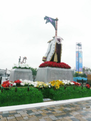 Whitebeard and Ace's Graves at Universal Studios Japan