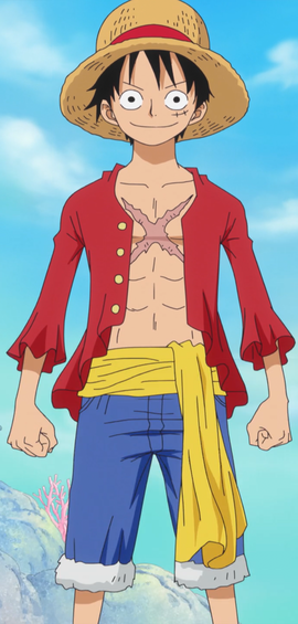 Monkey D. Luffy Anime Post Ellipse Infobox
