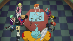 Nami Planning Rescue Mission