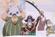 Piratas de Gally en el Baratie