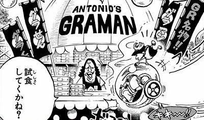 Antonio's Graman Manga Infobox