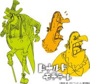 Donald Moderate's Concept Art