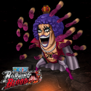 One Piece Burning Blood Emporio Ivankov (Artwork)