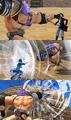 Pirate Warriors 3 Sabo vs Burgess