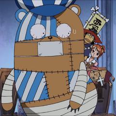 Straw Hats Inside Kumashi