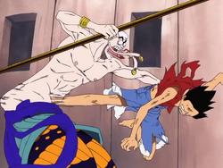 Luffy frappe Ener