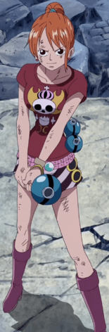 Nami 4th Thriller Bark Outfit