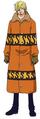 Vestimenta de Sanji Punk Hazard
