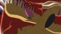 Zoro décapitant le premier Dragon de Vegapunk dans l'Animé