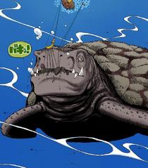 Глава 220. Обломки корабля съедает черепаха