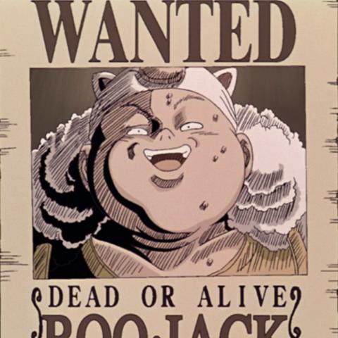 Il manifesto della sua taglia nel secondo film