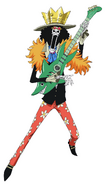 Brook Anime Concept Art