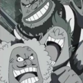 Buggy Pirates Impel Down Prisoners Portrait