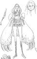 Charlotte Panna Manga Concept Art