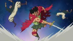 Kyros Bertarung dengan Satu Kaki