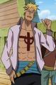Segunda combinación de Marco en el anime