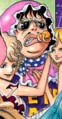 Senor Pink coloré dans le Manga