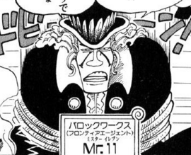 Mr. 11 Manga