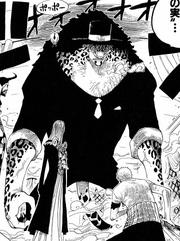 Neko Neko no Mi, modèle Léopard Forme Hybride Manga Infobox