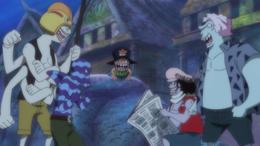 New Fish-Man Pirates as Children