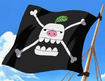 Piggy Pirates Jolly Roger