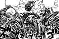 Corriente Serpiente en el Manga