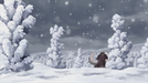Merveille snow mountains