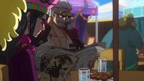 Smoker and Tashigi Undercover at the Pirates Festival