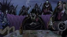 Miembros de los Piratas Firetank