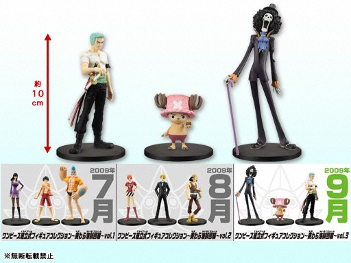 One Piece Ready-Made Figure Collection Volume 3