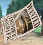 Thunder Soldier's Wanted Poster