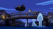Kumashi and Hippo Gentleman Defeated by Brook in Boss Luffy Special