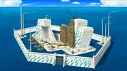 La base de la isla mano