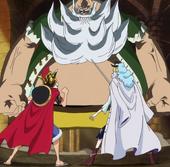 Luffy et Cavendish Vs Don Chinjao
