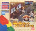 One Piece Mega Bloks Luffy & Shanks Pub