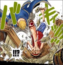 Глава 224. Беллами атакует Луффи