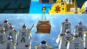 Ло сдаёт дозору 100 пиратских сердец