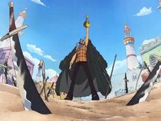 Crocodile Slays Invading Pirates