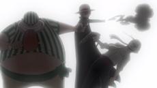 Lucky Roo dispara a un bandido