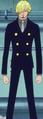 Primera vestimenta de Sanji en el Arco de Punk Hazard