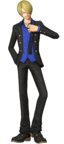 Sanji Pre Timeskip Pirate Warriors 3