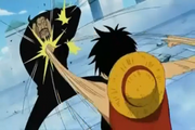 Luffy blueno