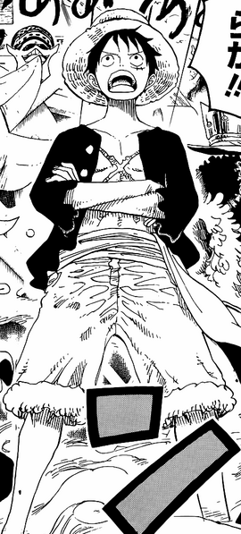 Monkey D. Luffy Manga Post Ellipse Infobox