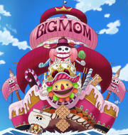 Navio Pirata Big Mom