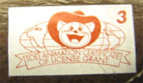 Toei Silver Sticker