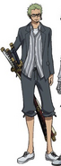 Zoro Movie 12 Second Outfit